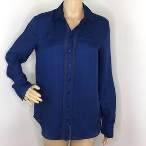 Armani Exchange Blue Blouse